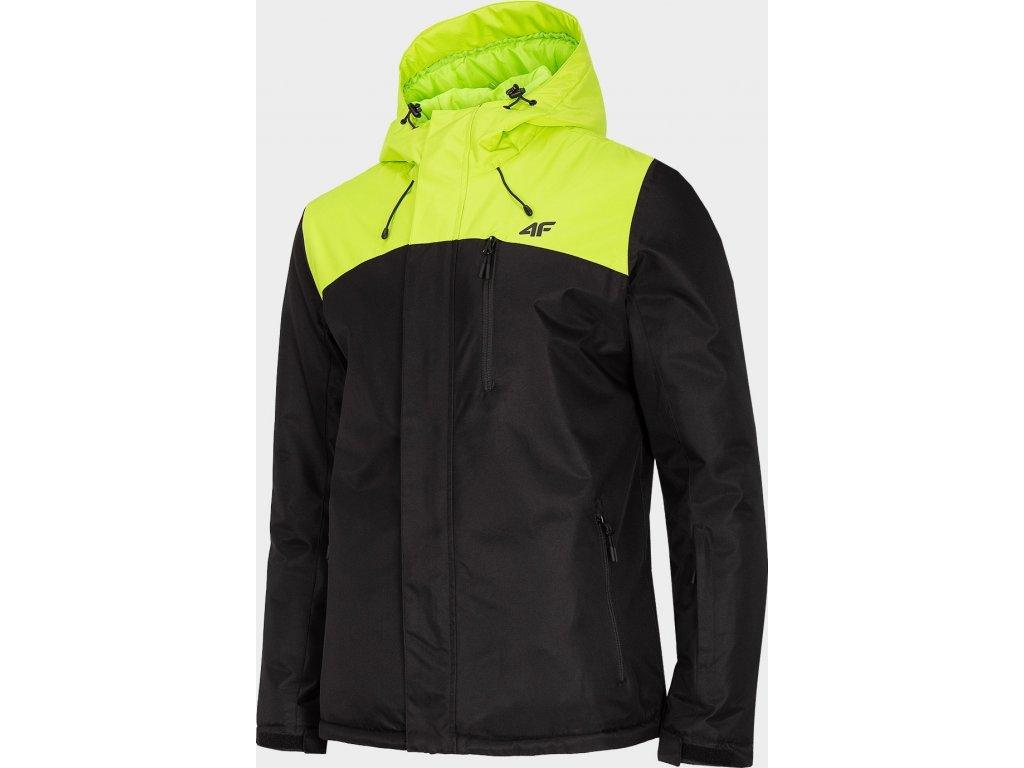 Pánska lyžiarska bunda 4F KUMN002 Zelená
