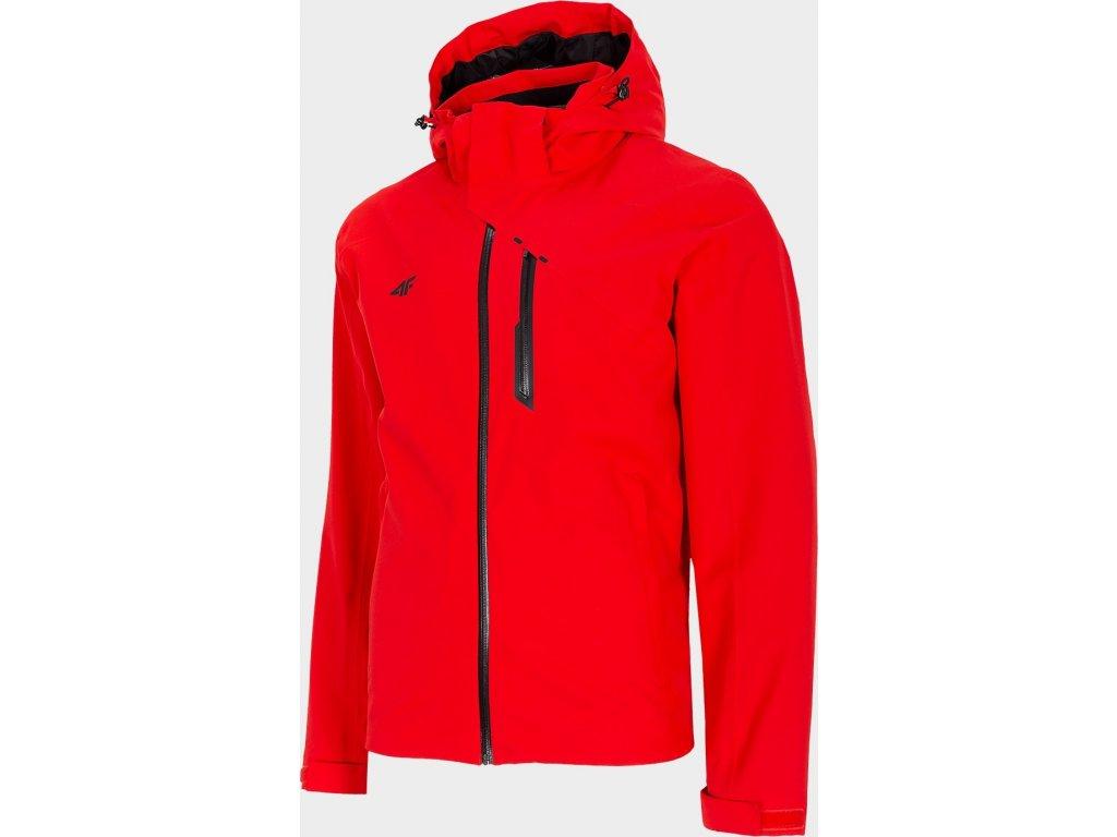 Pánska outdoorová bunda 4F KUM200 Červená