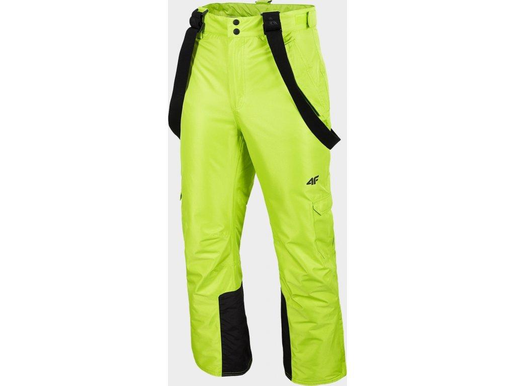 Pánské lyžařské kalhoty 4F SPMN009 Zelené