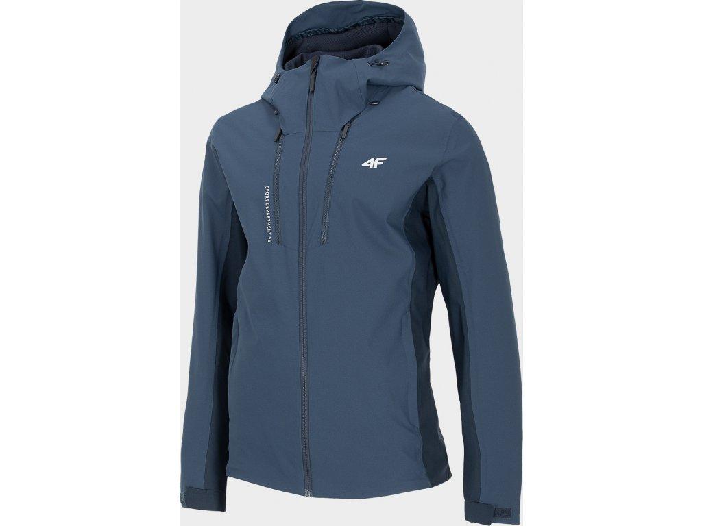 Pánská outdorová bunda 4F KUM202 Tmavě modrá