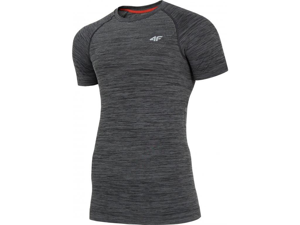 Pánske funkčné tričko 4F TSMF006 Sivé