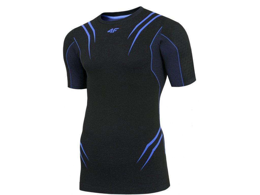 Pánské funkční tričko 4F TSMF005 Tmavě modré