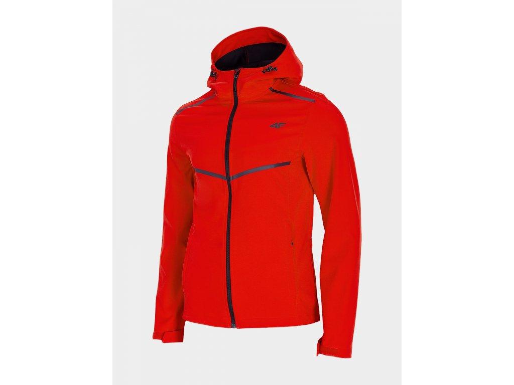 Pánská softshellová bunda 4F SFM301 Tmavě červená
