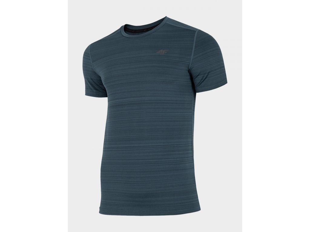 Pánské funkční tričko 4F TSMF302 Tmavě modré