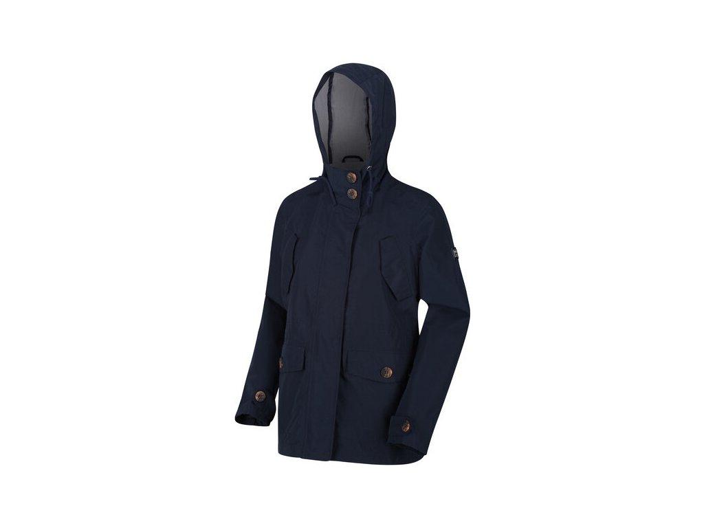 Dámska jarná bunda REGATTA RWW334 Ninette Tmavo modrá