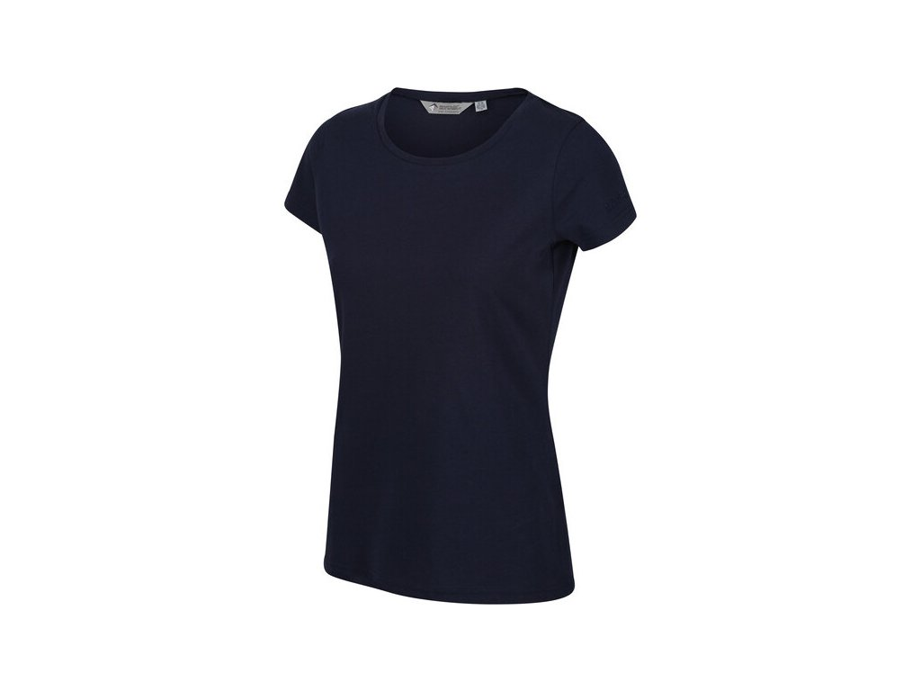 Dámské tričko RWT198 REGATTA Carlie Tmavě modré