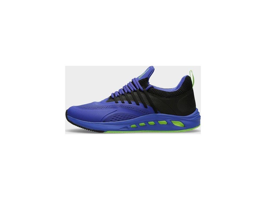 Pánske bežecké topánky 4F OBMS102 Modrá