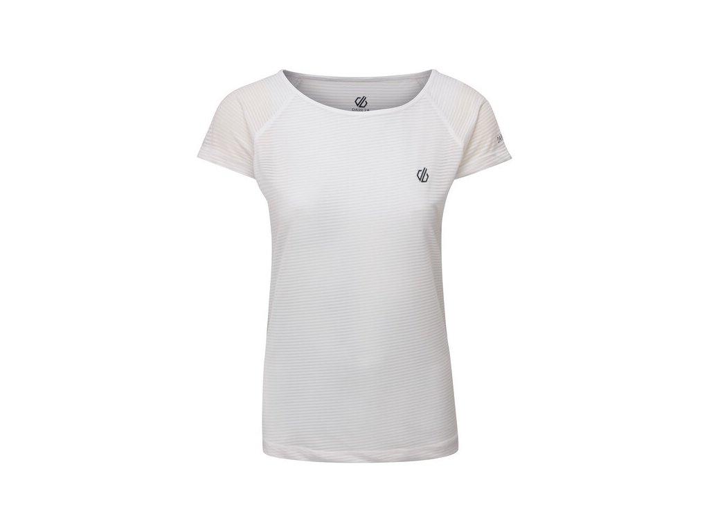 Dámské funkční tričko DARE2B DWT504 Defy Tee Bílé