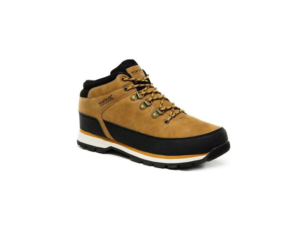 Pánske zimné topánky Regatta RMF681 Aspen Béžové