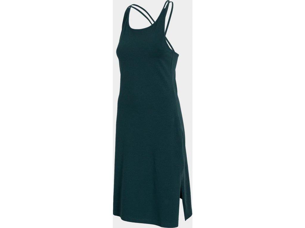 Dámske šaty 4F SUDD013 Tmavozelené