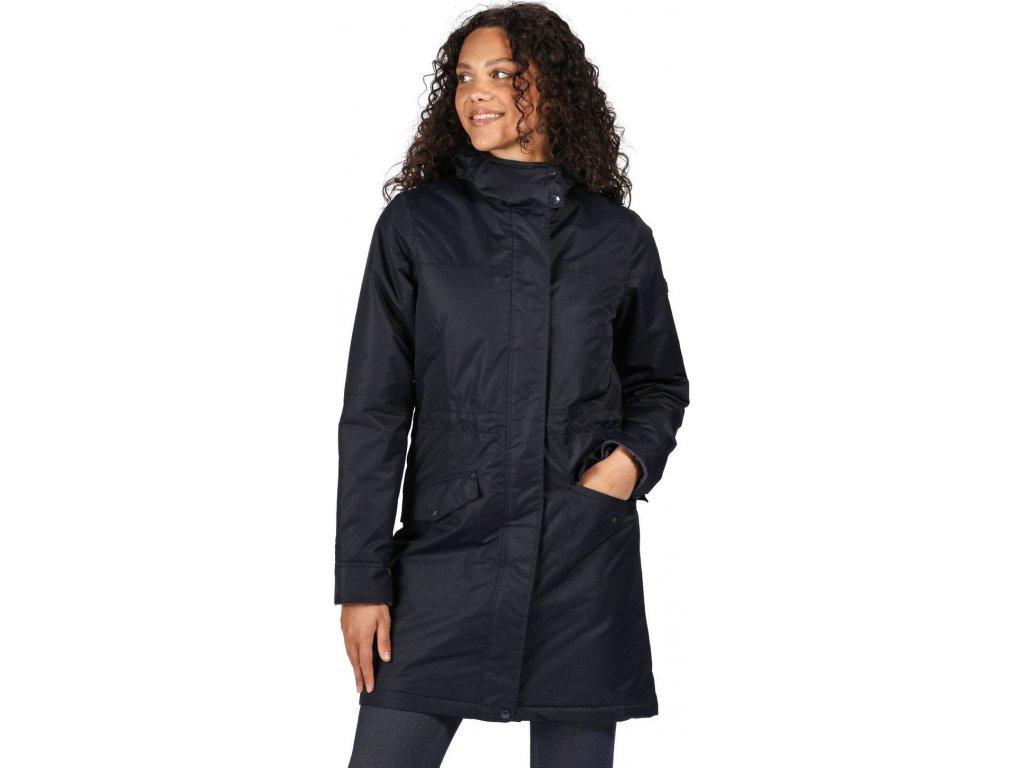 Dámský zimní kabát Regatta Rimona 540 tmavo modrý