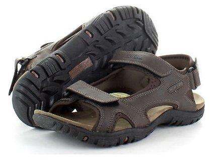 Pánske sandále Regatta RMF331 HARIS Hnedé