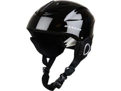 Detská lyžiarska prilba DUE337 DARE2B Scudo Jnr Helmet Čierna