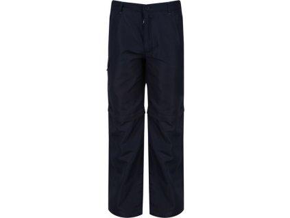 Detské outdoorové nohavice RKJ060 Regatta Sorcer Z/O Tmavomodré