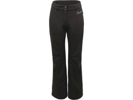 Dámske lyžiarske softshellové nohavice Dare2B DWL301 Remark Pant Čierna