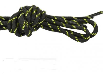 Šnúrky Regatta RFL001 Laces Čierne/Žlté