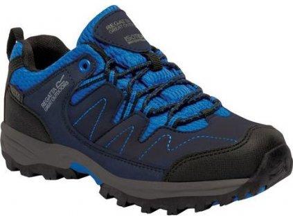 Detská trekingová obuv REGATTA  RKF449  Holcombe Low Modrá