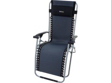 Polohovacie kreslo RCE152 REGATTA Colico Chair Čierne/Sivé