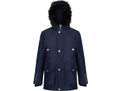 Detský kabát REGATTA RKP200 Proktor Tmavomodrý