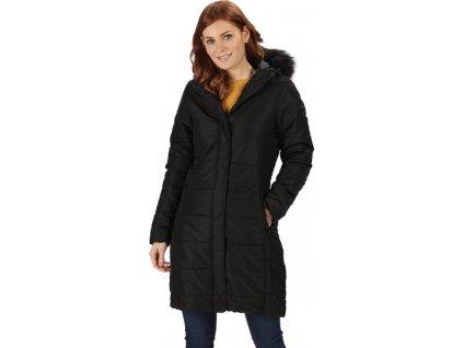 Dámsky kabát Regatta RWN123 FERMINA II Čierny 19