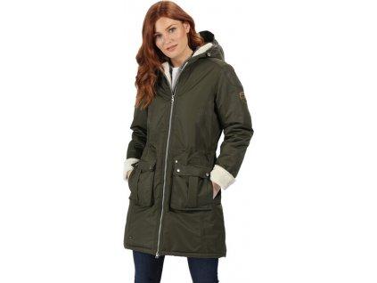 Dámsky kabát Regatta RWP260 ROMINA Khaki 2