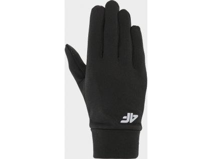 Běžecké rukavice 4F REU212 Černé
