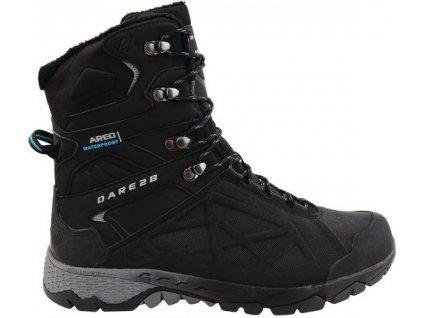Pánske zimné topánky DMF326 DARE2B Ridgeback Čierne