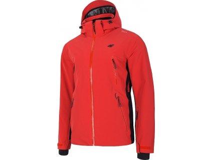 Pánska lyžiarska bunda 4F KUMN012 Červená