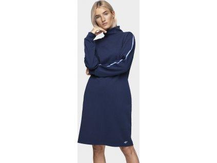 Dámské šaty 4F SUDD230 Modré