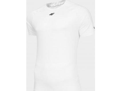 Pánské funkční tričko 4F TSMF290 Bílé