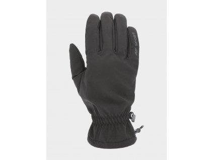 Softshellové rukavice 4F REU105 Černé