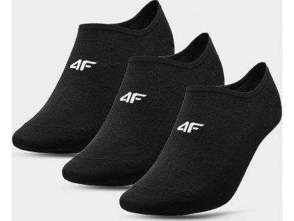 Pánské nízké ponožky 4F  SOM300 Černé (3páry)