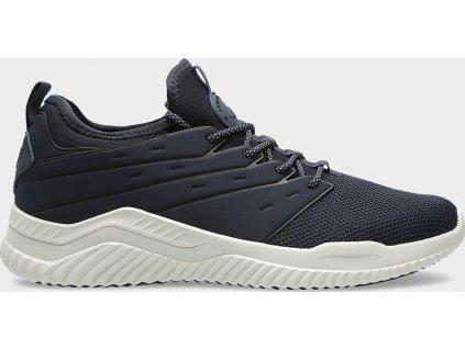 Pánska vychádzková obuv 4F OBML201 Tmavo modrá