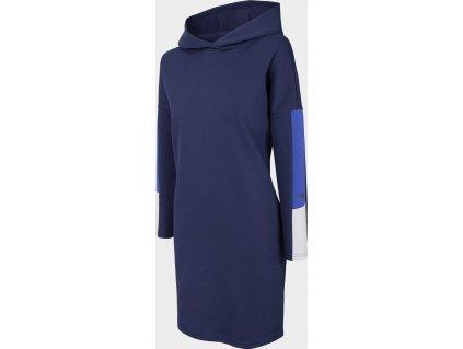 Dámské šaty 4F SUDD200 Tmavě modré