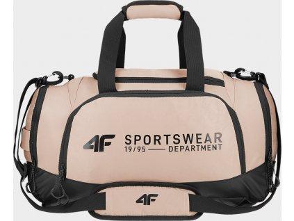 Sportovní taška 2v1 4F TPU212 Světle růžová