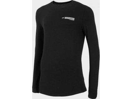 Pánské tričko  4F TSML200 Černé