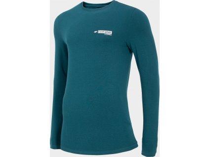 Pánské tričko 4F TSML200 Zelené mořské