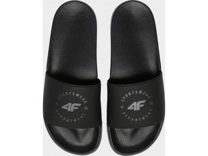 Pánské pantofle 4F KLM202 Černé
