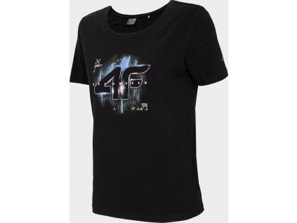 Dámské tričko 4F TSD213 Černé