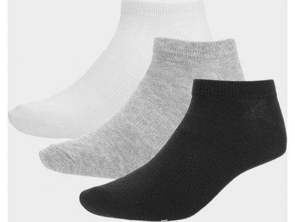 Dámské ponožky Outhorn SOD600A Bílé_šedé_černé