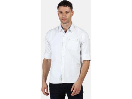 Pánská košile Regatta RMS135 Banning Bílá
