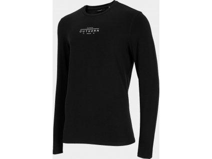 Pánské tričko Outhorn TSML601 Černé