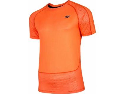 Pánske tréningové tričko 4F TSMF014 oranžové