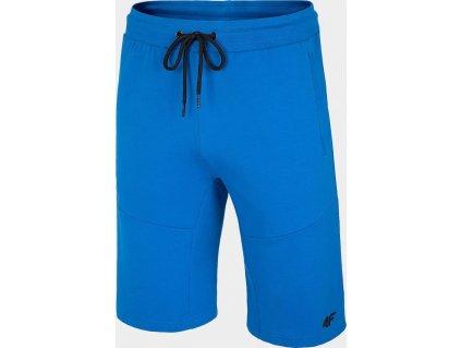 Pánske teplákové kraťasy 4F SKMD010 Modré