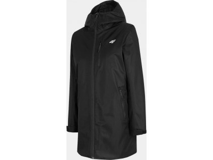 Dámska mestská bunda 4F KUD302 Čierna