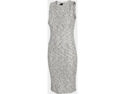 Dámske šaty 4F SUDD301 Sivé