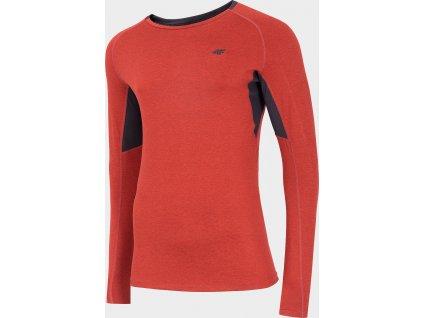 Pánske funkčné tričko 4F TSMLF002 Červené