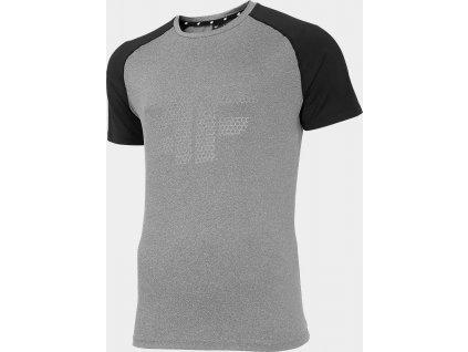 Pánske funkčné tričko 4F TSMF010 Sivé