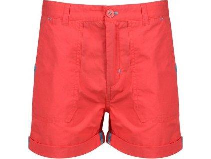 Detské šortky Regatta Damzel Short 6QM čiervené