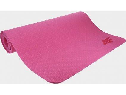 Podložka na jogu 4F KARJ300 Ružová